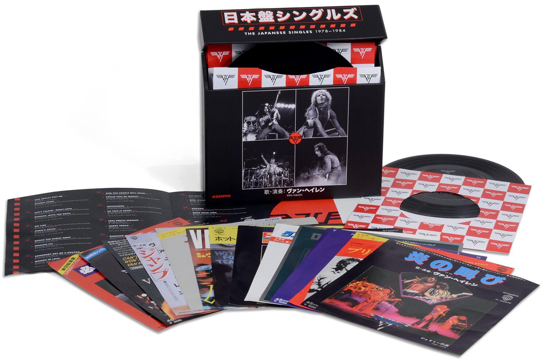 Image of Van Halen The Japanese singles 1978-1984 13 x 7 inch Standard