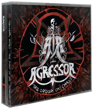 Image of Agressor The order of chaos 3-CD Standard