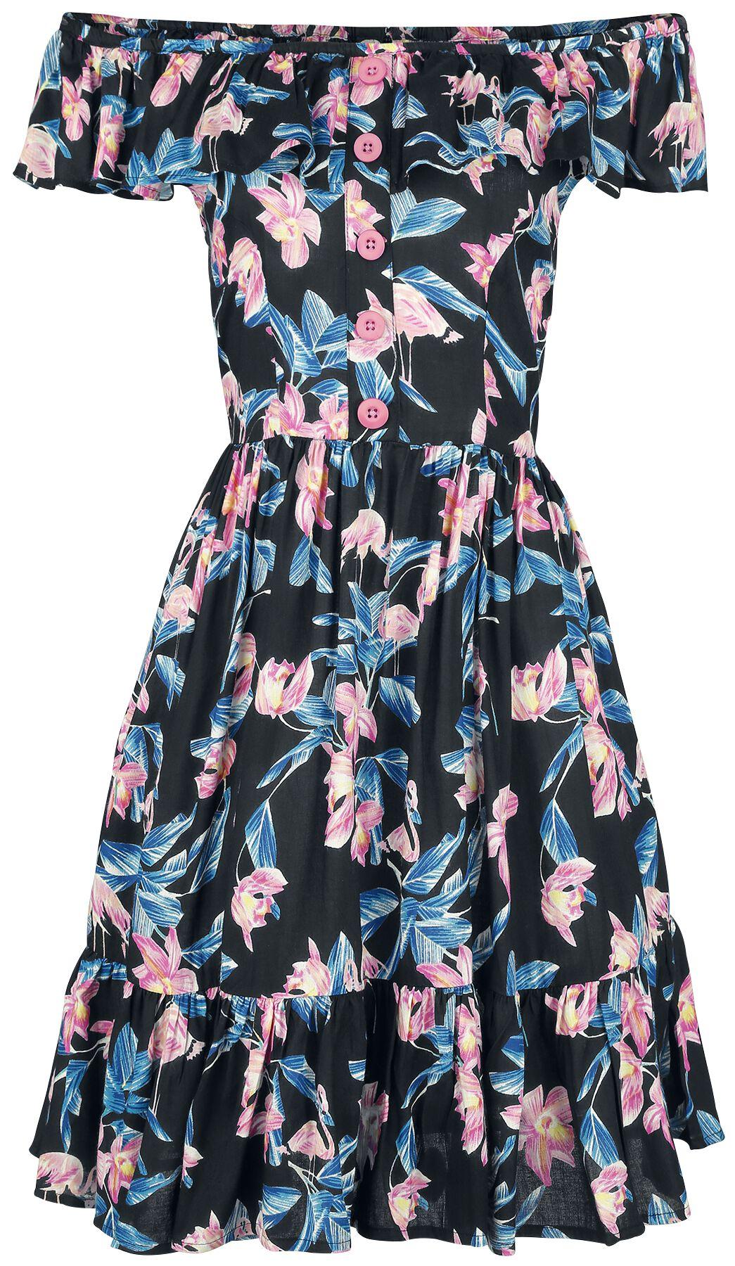 Kleider für Frauen - Hell Bunny Florida Mini Dress Kleid multicolor  - Onlineshop EMP