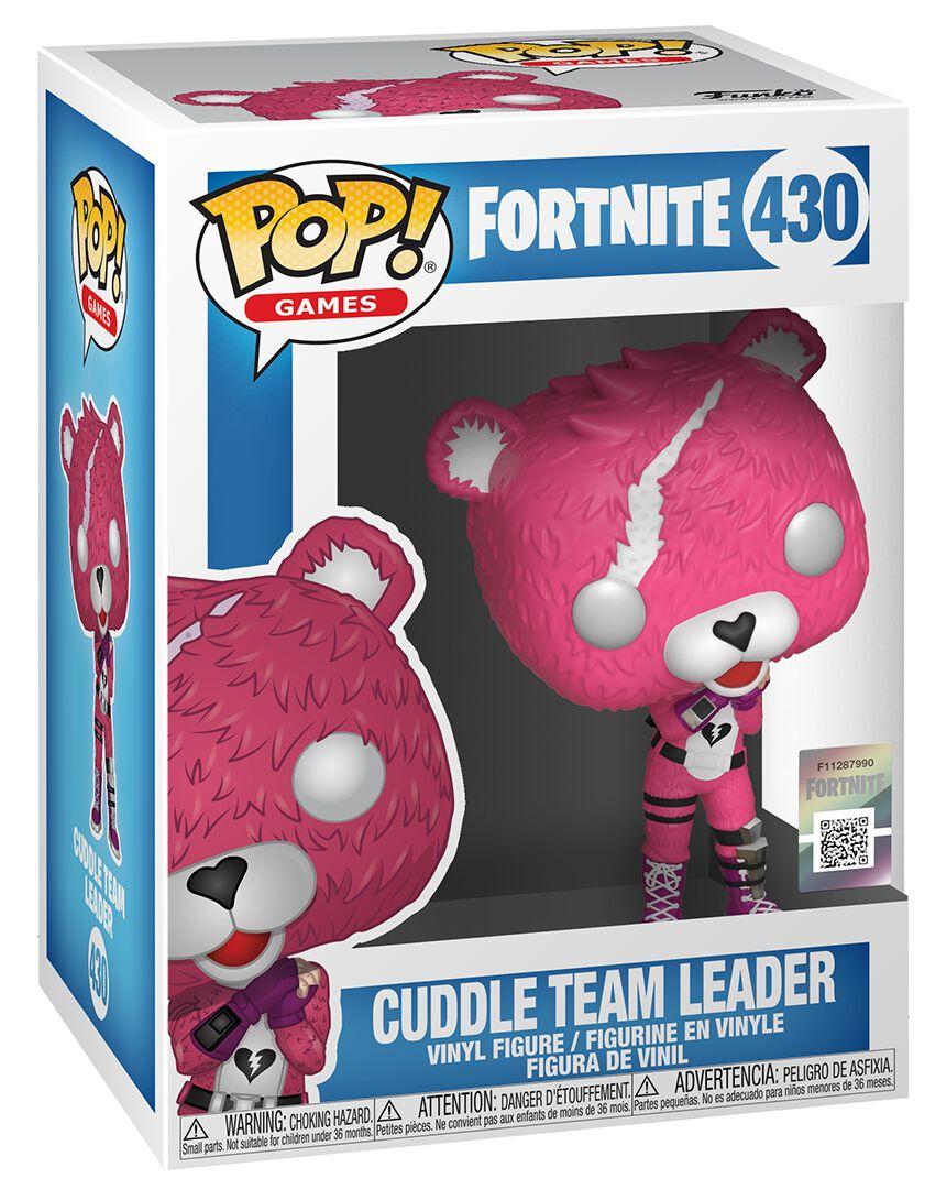 Cuddle Team Leader Vinyl Figure 430 Fortnite Funko Pop Emp
