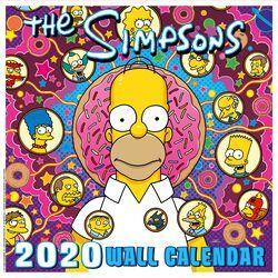 Simpsons Wandkalender 2020