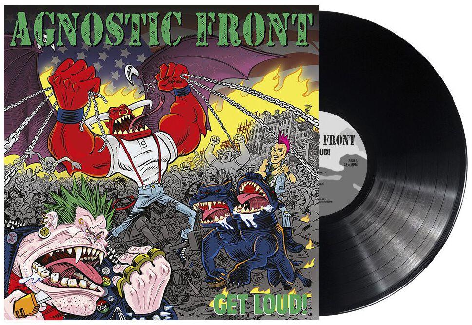 Image of Agnostic Front Get loud! LP Standard
