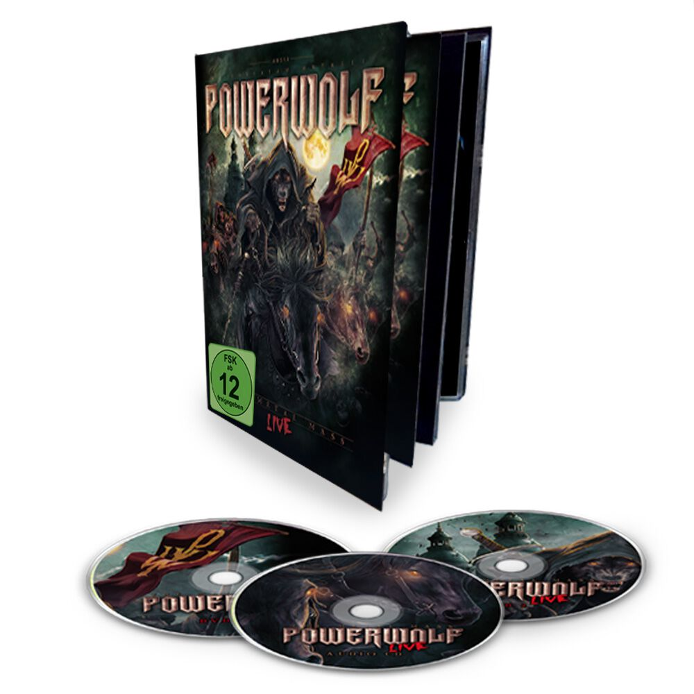 Image of Powerwolf The Metal mass live 2-DVD & CD Standard