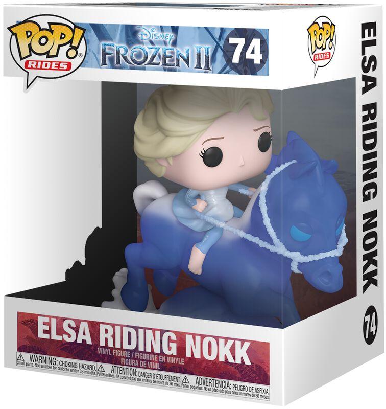 Elsa Riding Nokk (Pop Rides) Vinyl Figur 74