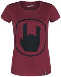 T- Shirt mit Rockhand