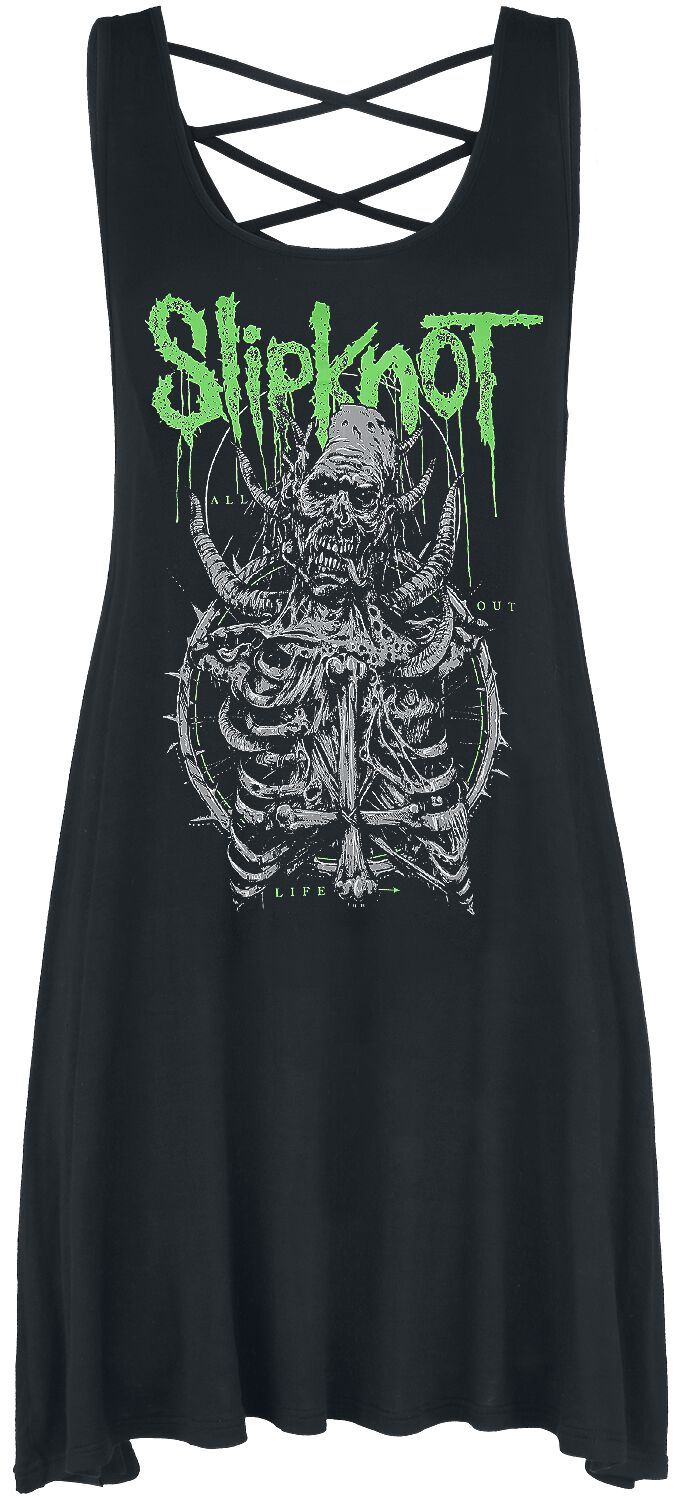 Slipknot EMP Signature Collection Short dress black