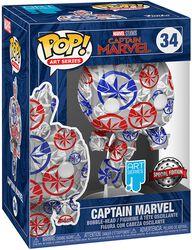 Captain Marvel - (Art Series) Vinyl Figur 34