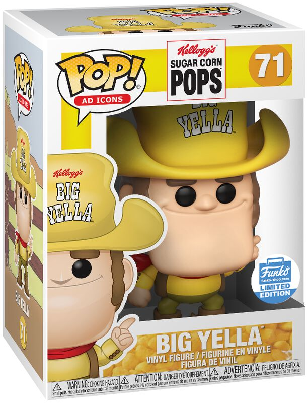 Sugar Corn Pops - Big Yella (Funko Shop Europe) Vinyl Figure 71