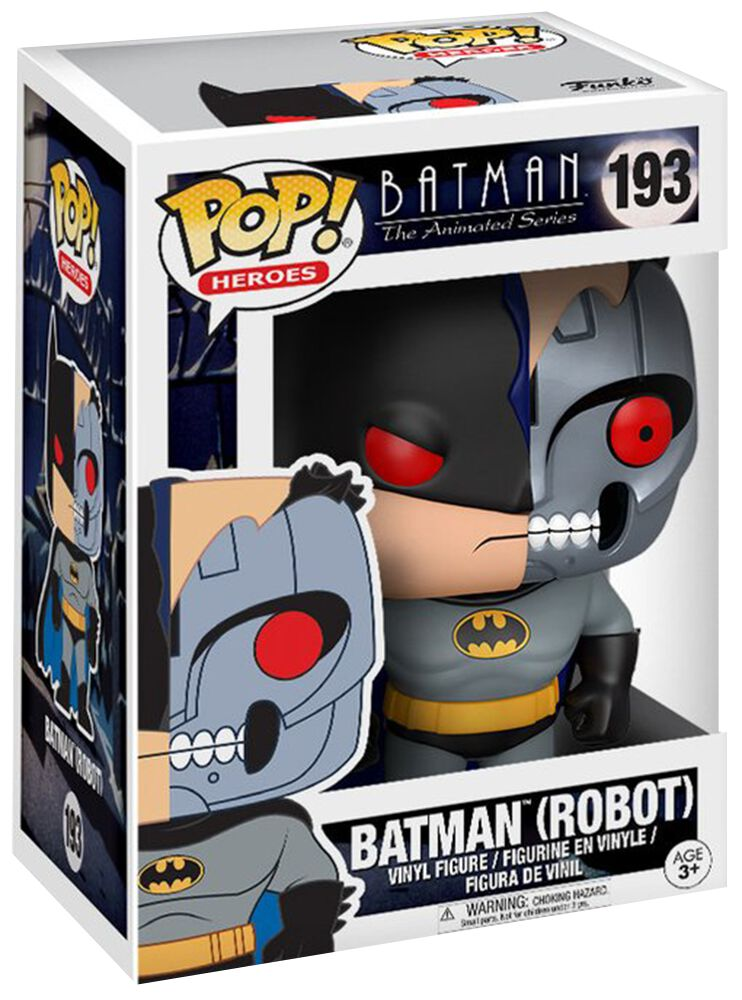 batman robot chase ist m glich vinyl figure 193. Black Bedroom Furniture Sets. Home Design Ideas