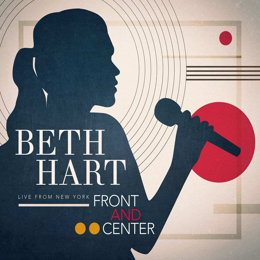 Image of Beth Hart Front and center - Live from New York CD & DVD Standard