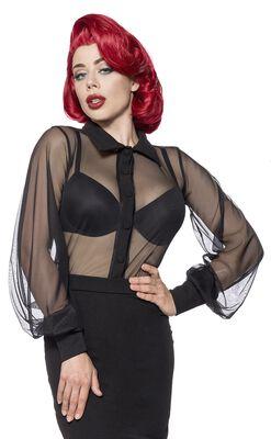 Netz-Bluse
