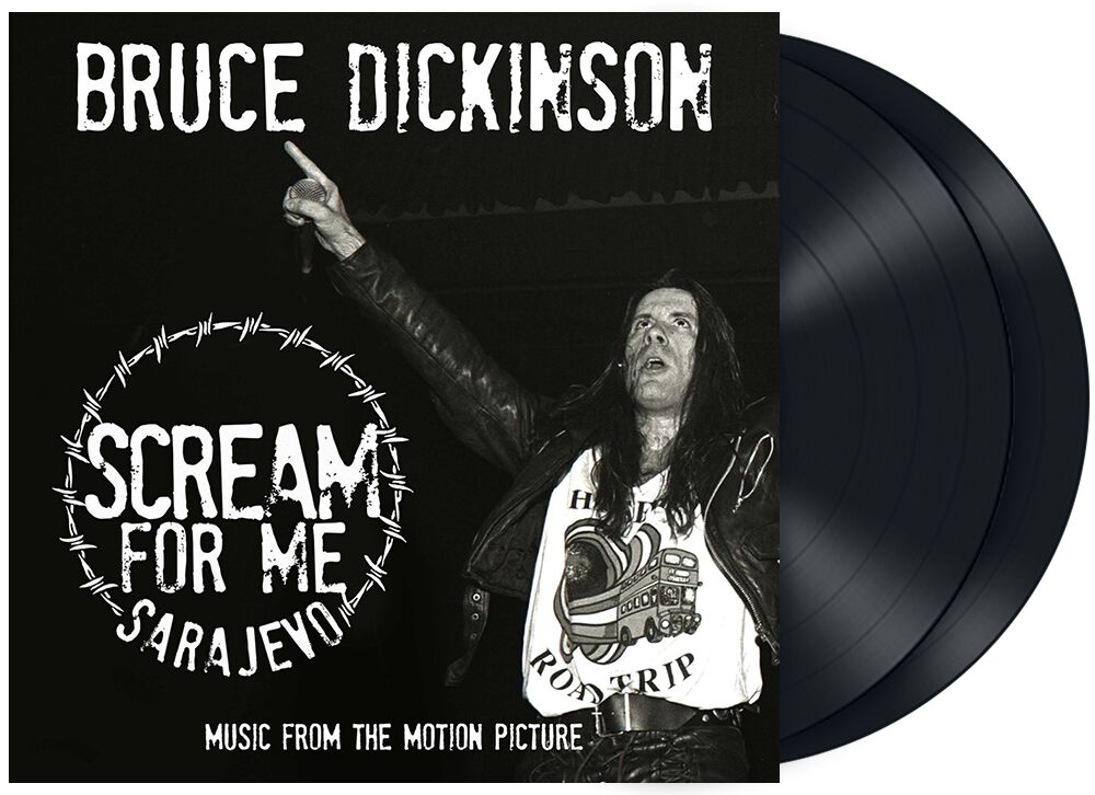 Bruce Dickinson  Scream for me Sarajevo  2-LP  Standard
