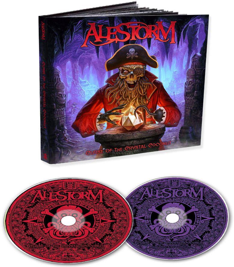 Image of Alestorm Curse of the crystal coconut 2-CD Standard