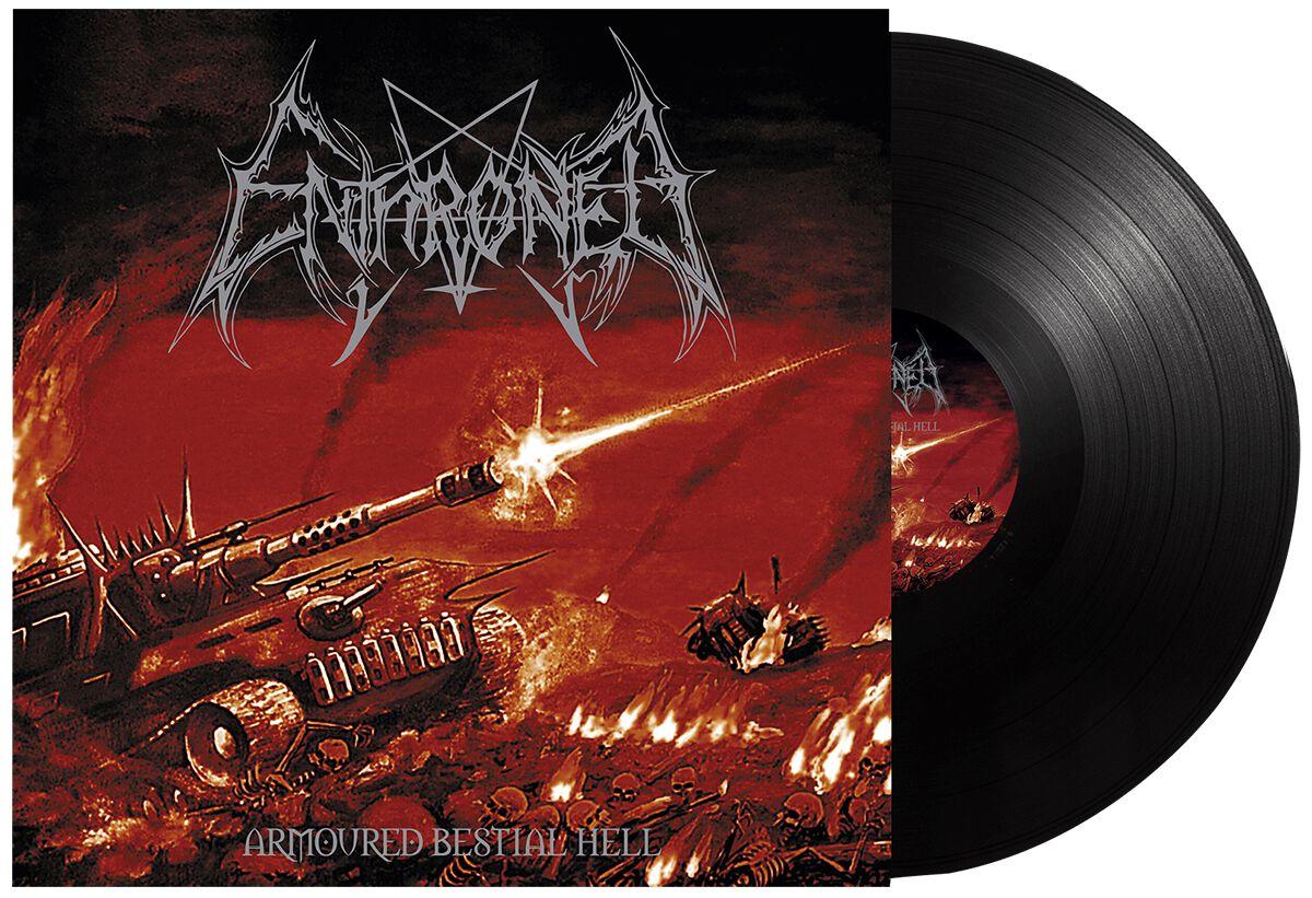 Enthroned Armored bestial hell LP schwarz BOBV816LP