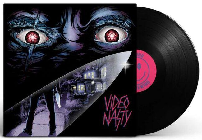 Video Nasty Video Nasty LP schwarz O-021-LP
