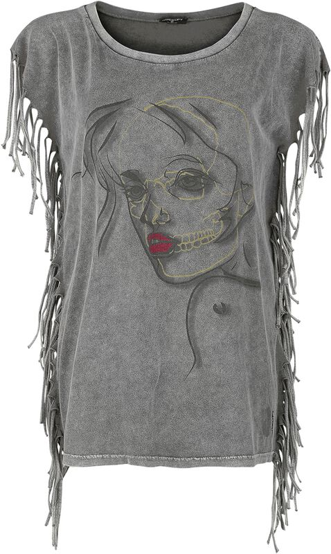 Fringe Woman Face Shirt