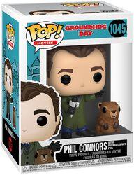 Und täglich grüßt das Murmeltier Phil Connors with Punxsutawney Phil Vinyl Figur 1045