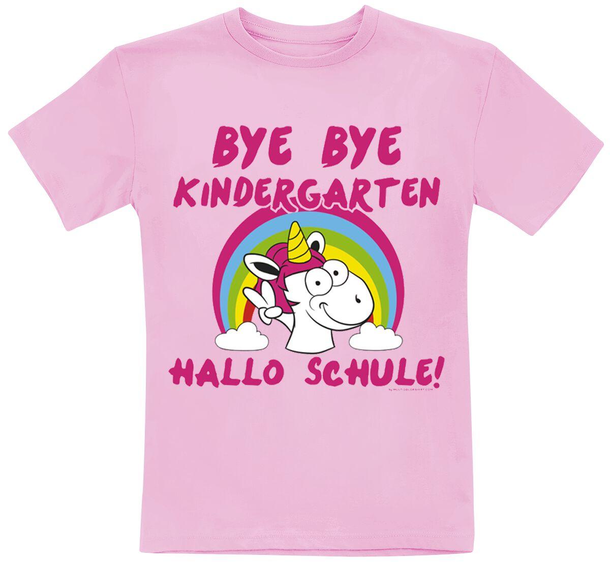 Einhorn Bye Bye Kindergarten - Hallo Schule! powered by EMP