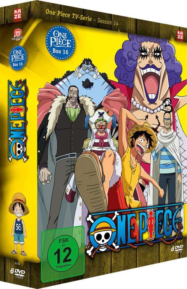 Image of One Piece Die TV-Serie - Box 16 6-DVD Standard
