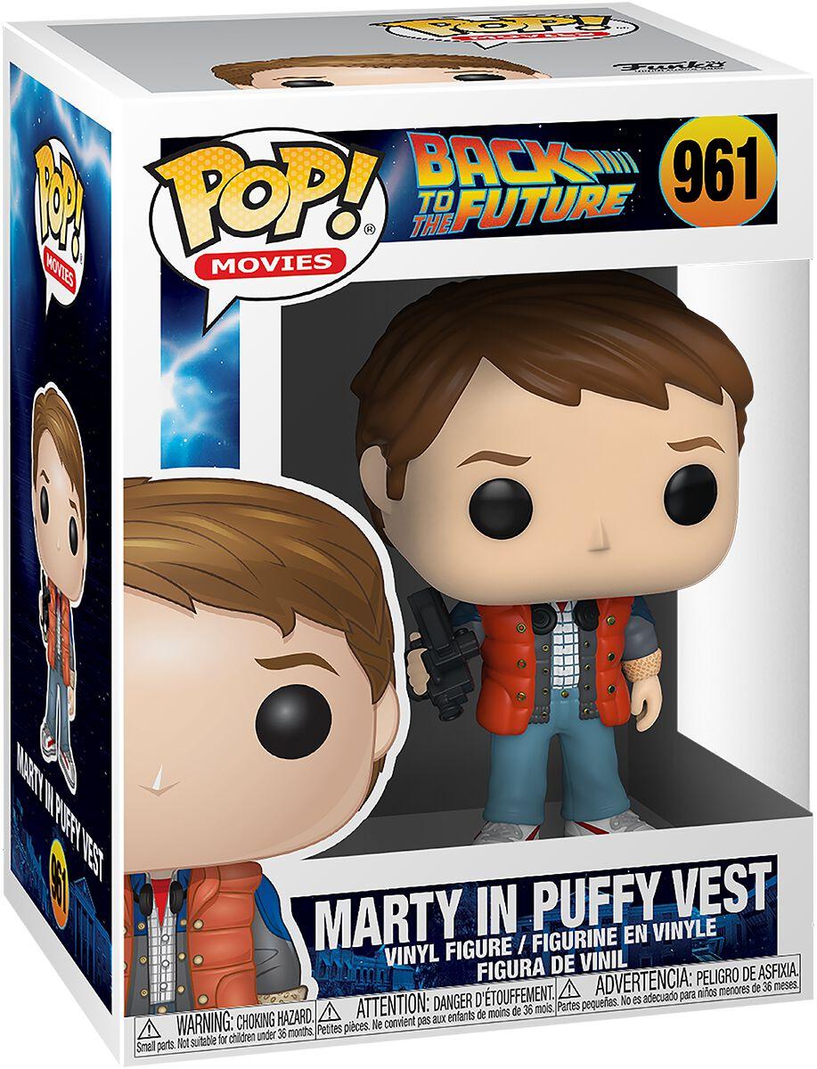 Zurück in die Zukunft Marty in Puffy Vest Vinyl Figur 961 Funko Pop! multicolor 48705
