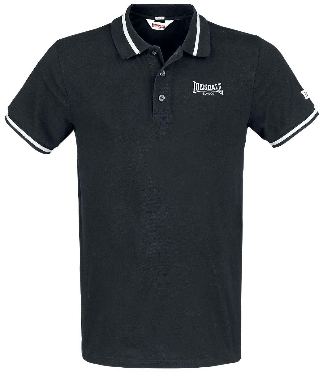 Image of Lonsdale London Causton Polo-Shirt schwarz