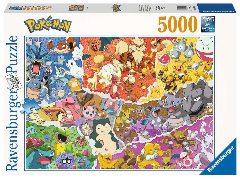 Pokémon Pokémon Allstars Puzzle Puzzle multicolor 16845