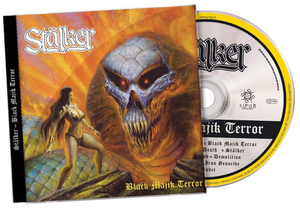 Stälker Black majik terror CD multicolor 0840588138401