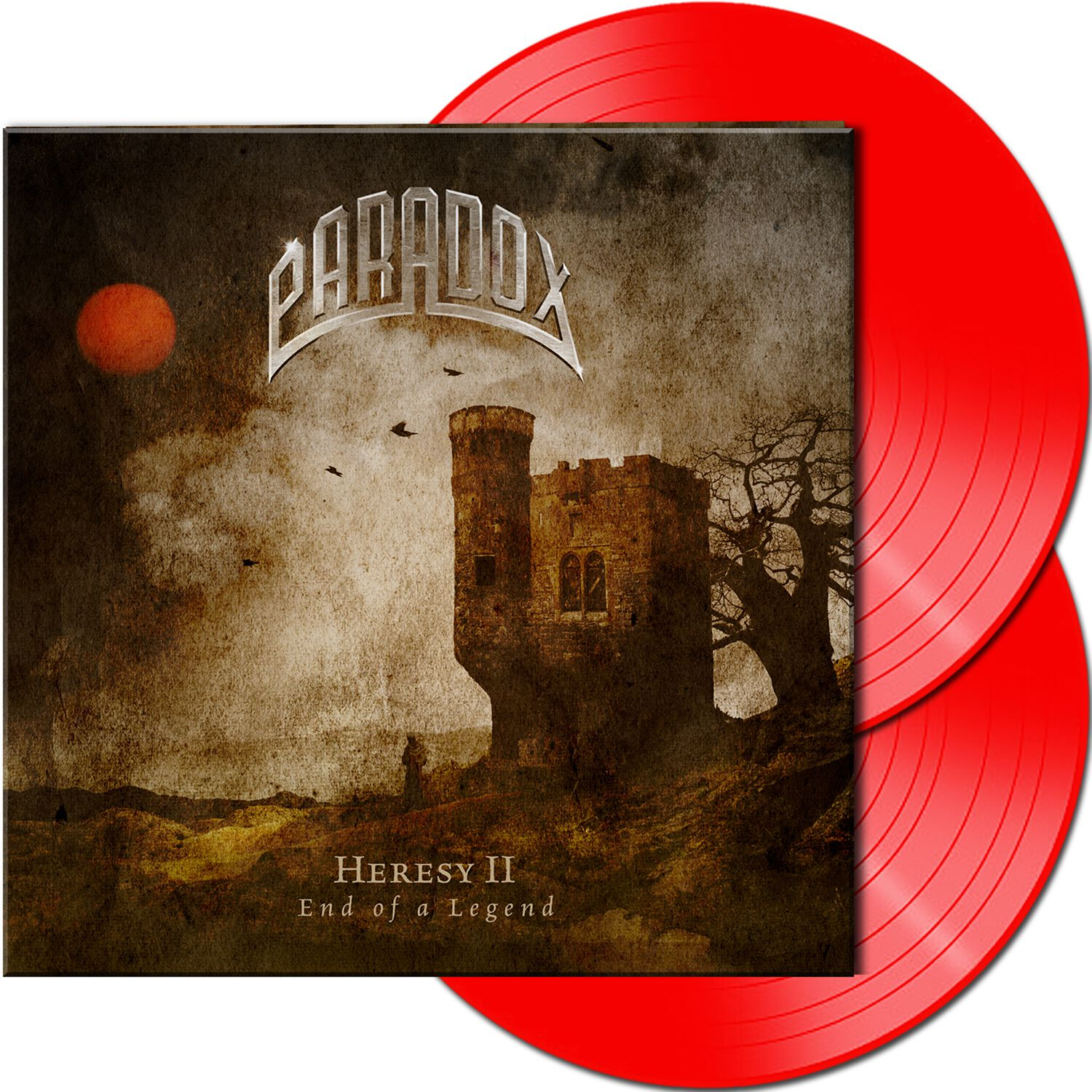 Paradox Heresy II - End of a legend LP rot AFM 7701