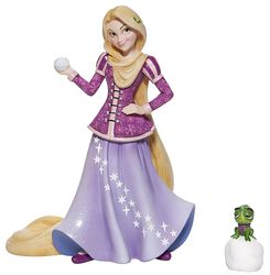 Holiday Rapunzel With Pascal