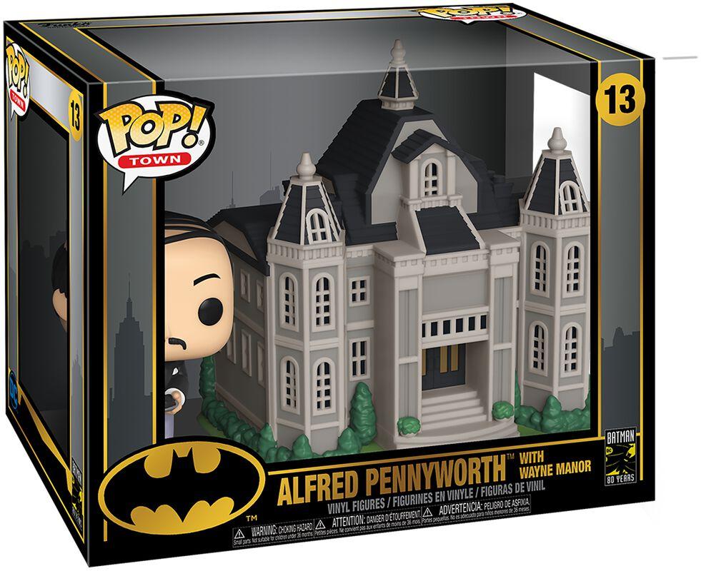 80th - Alfred Pennyworth With Wayne Manor  (Pop! Town) Vinyl Figur 13