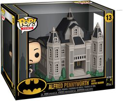 80th - Alfred Pennyworth With Wayne Manor  (Pop! Town) Vinyl Figur 13