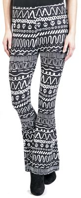 Leggings mit Schlag RED