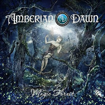 Image of Amberian Dawn Magic forest CD Standard