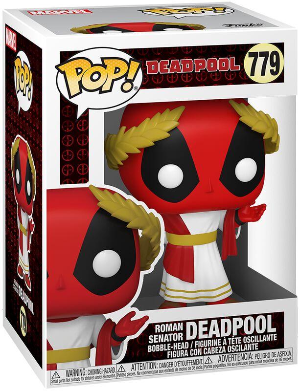 30th Anniversary - Roman Senator Deadpool Vinyl Figur 779
