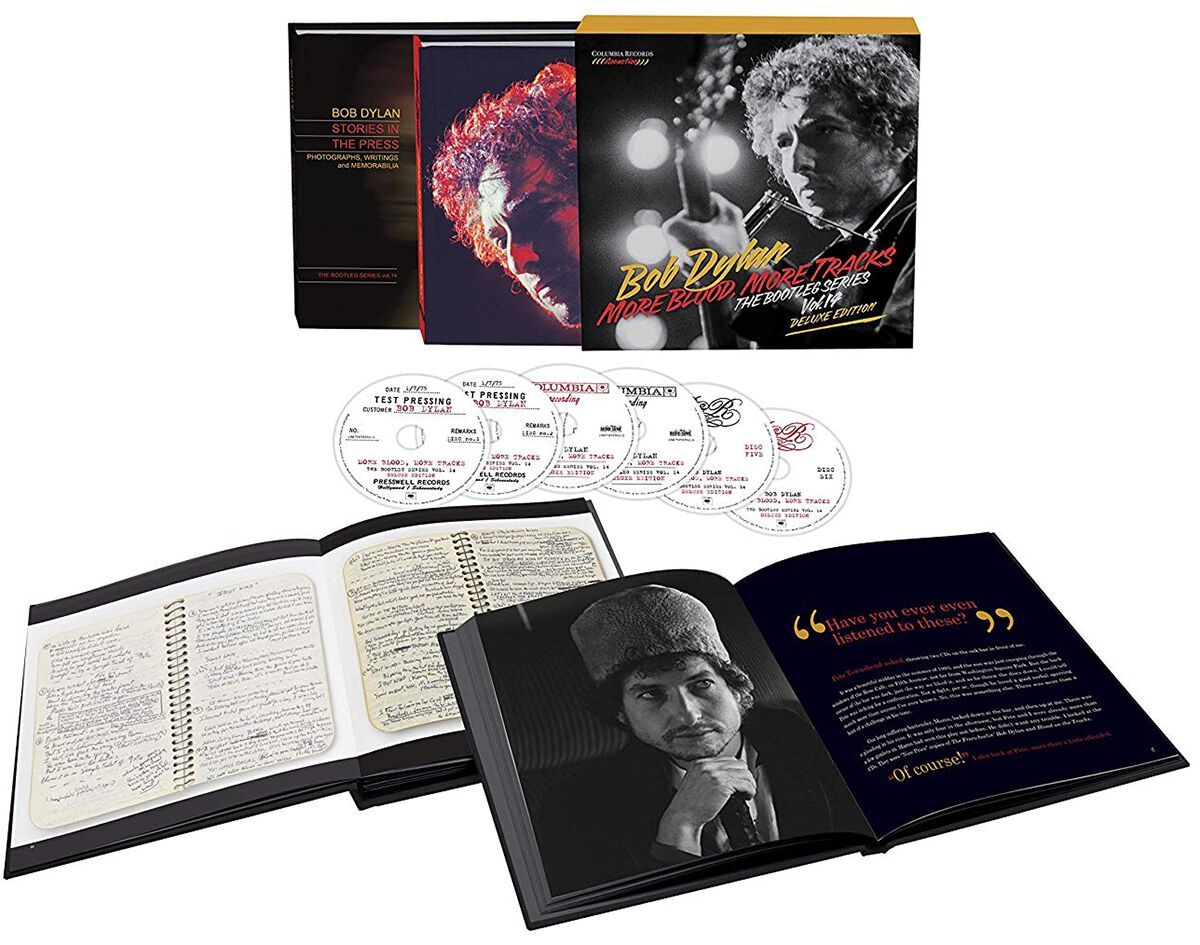Image of Bob Dylan More blood, more tracks: The bootleg series Vol. 1 6-CD Standard