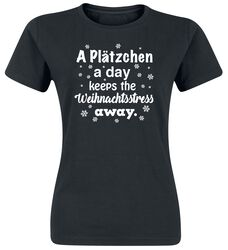 A Plätzchen A Day Keeps The Weihnachtsstress Away.