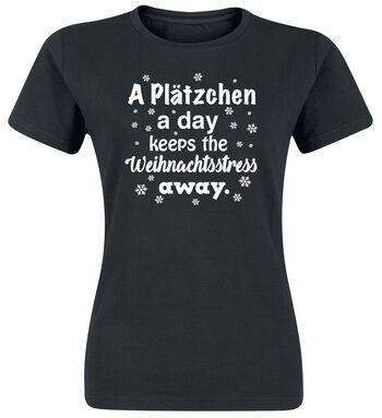 A Plätzchen A Day Keeps The Weihnachtsstress Away.