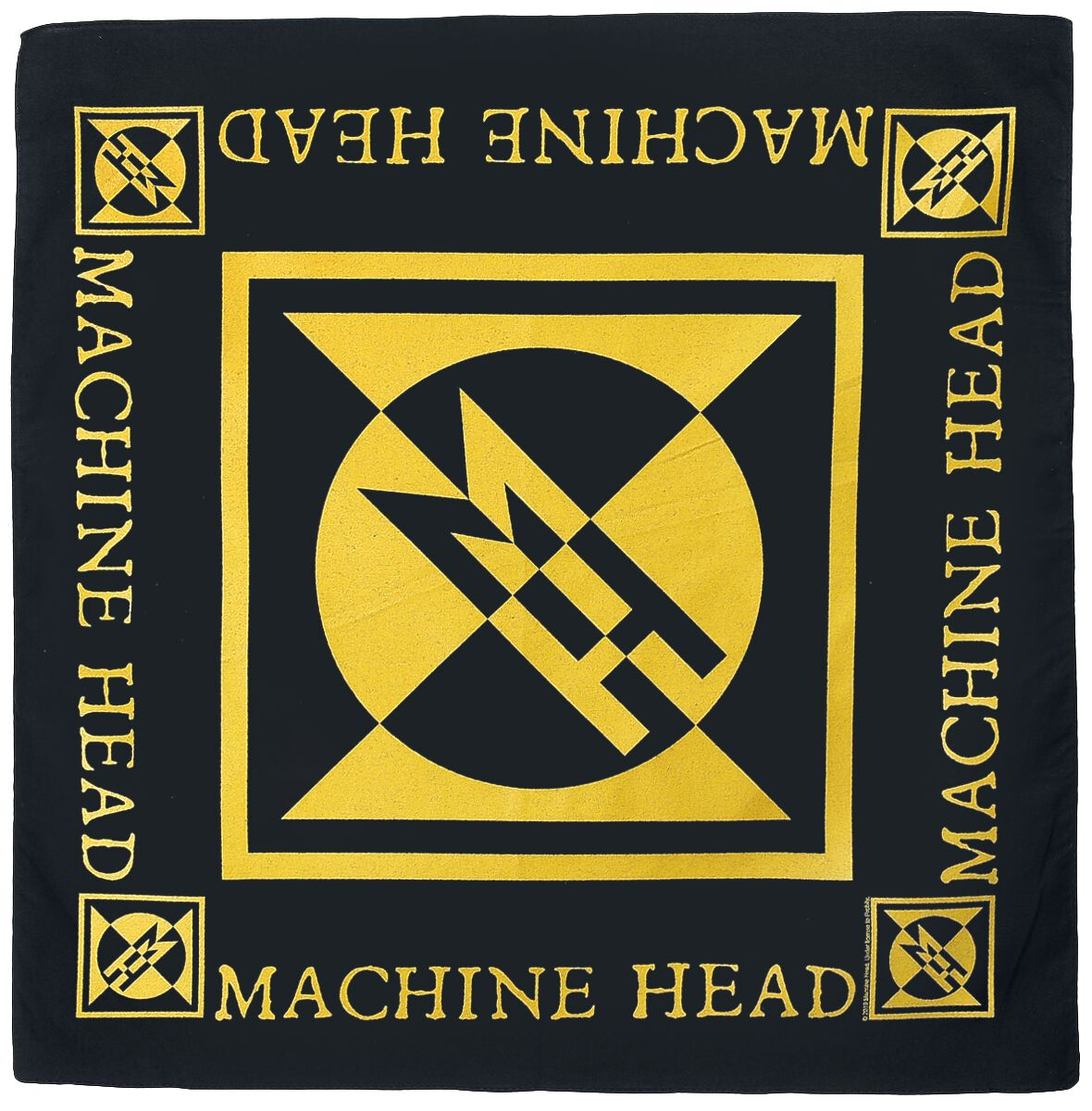 Image of Machine Head Diamond Logo - Bandana Bandana multicolor