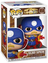 Infinity Warps - Soldier Supreme Vinyl Figur 858