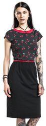 Cherry Dots Etui Dress