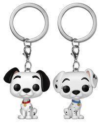 Pongo und Perdita  - POP! Keychain 2-Pack