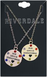 Our Love is sensational bestie Necklace Set