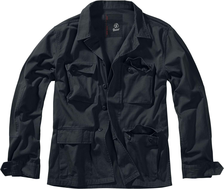 Brandit BDU Twill Jacket Between-seasons Jacket black