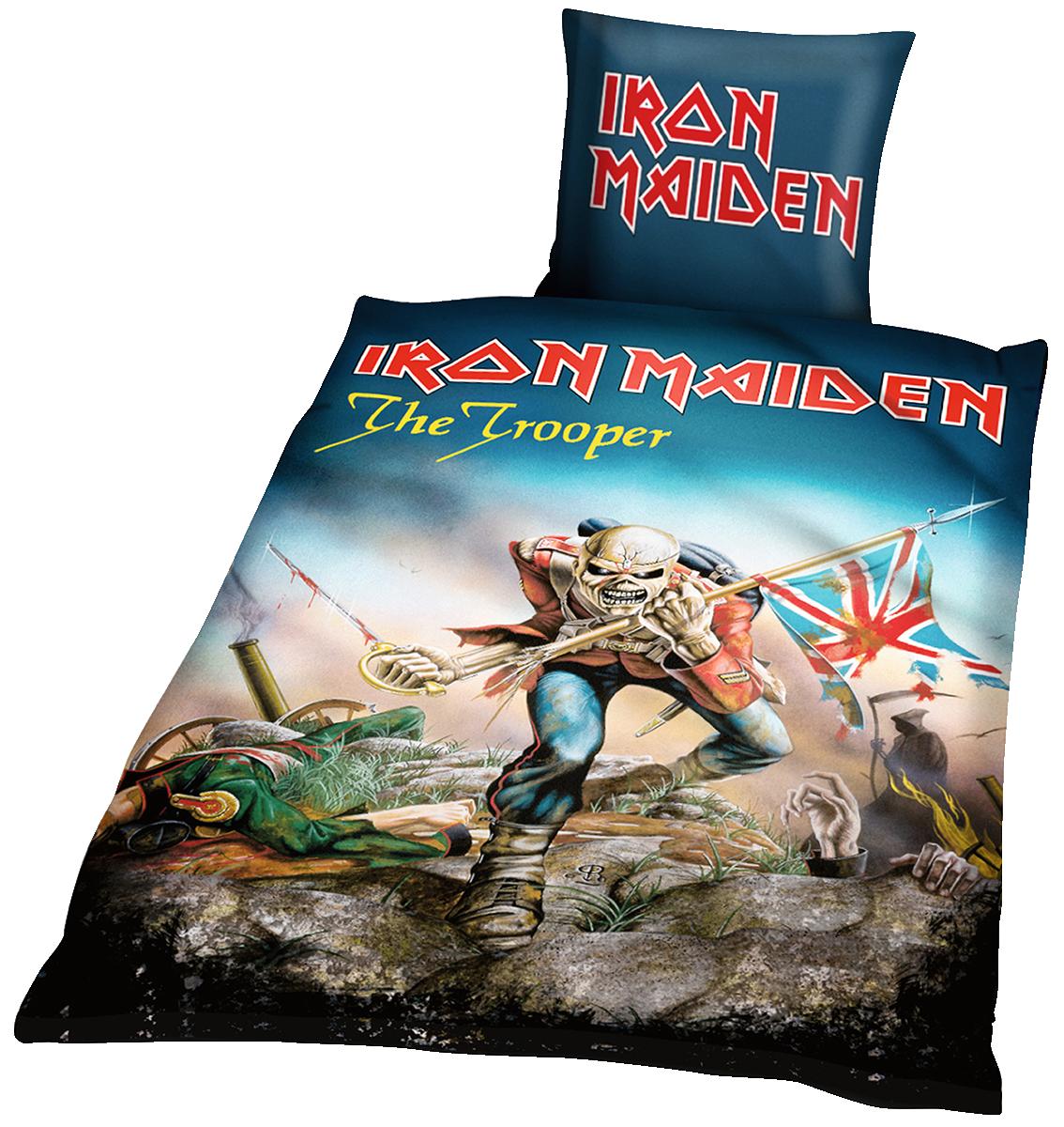 Iron Maiden - The trooper - Bettwäsche - multicolor