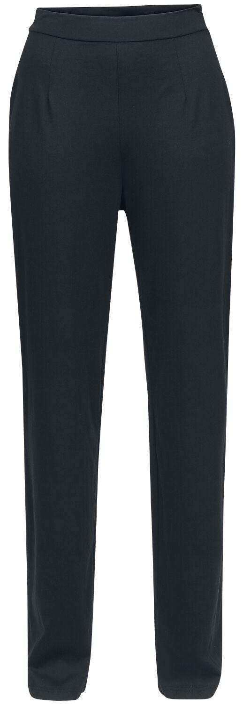 Hosen für Frauen - Outer Vision High Waist Pants Judit Stoffhose schwarz  - Onlineshop EMP