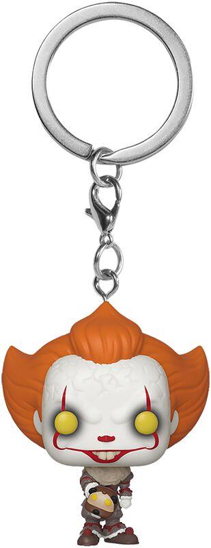 Kapitel 2 - Pennywise with beaverhead Pocket POP! Keychain