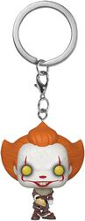 Kapitel 2 - Pennywise with beaverhead Pocket POP! Keychain