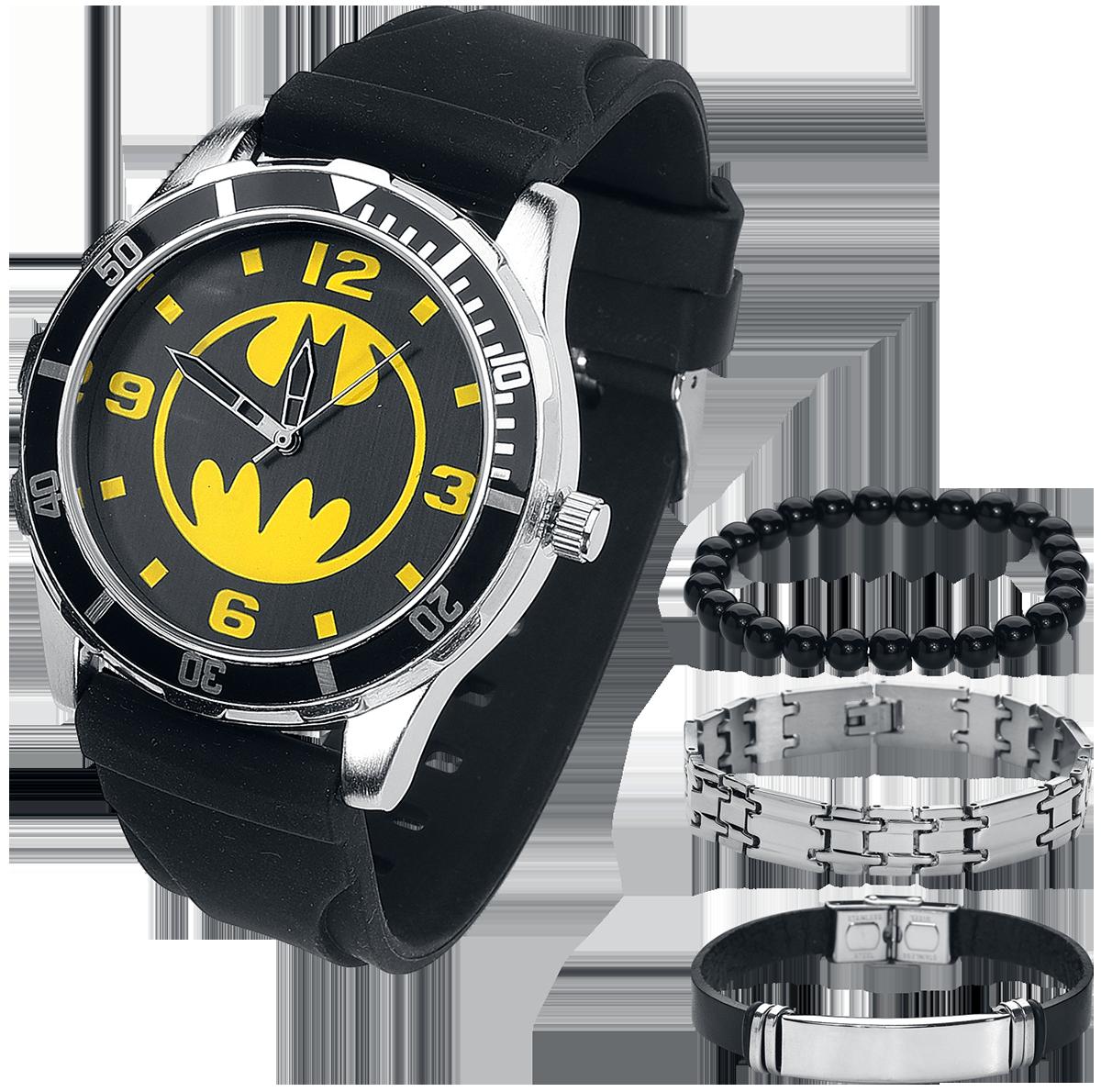 Batman - Batman Set - Armbanduhren - schwarz