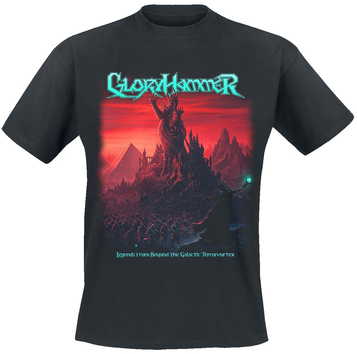 Gloryhammer - Legends From Beyond The Galactic Terrorvortex - T-Shirt - black image
