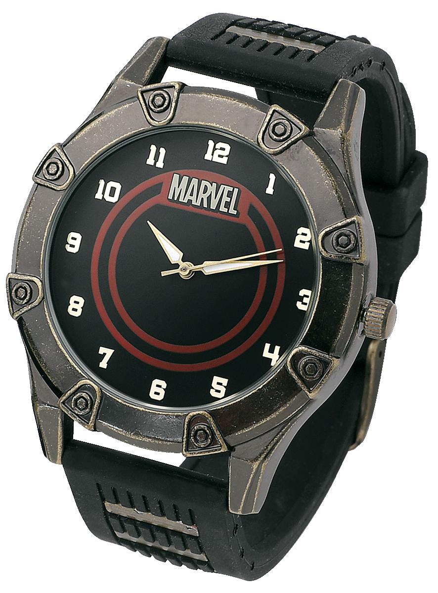 Marvel - Marvel Logo - Armbanduhren - schwarz